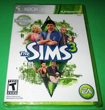 The Sims 3 Microsoft Xbox 360 Platinum Hits *New! *Sealed! *Free Shipping!