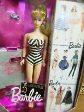 Barbie 35th Anniversary Special Edition Reproduction of Original 1959 Barbie NIB