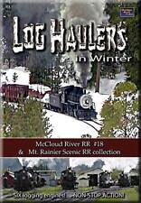 Log Haulers in Winter DVD NEW Golden Rail Video Polson McCloud Logging Rayonier