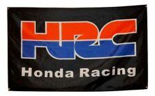 HONDA RACE HRC flag banner, windscreen shade, man cave gift, shed,   garage UK