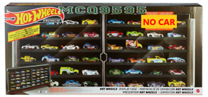 2021 HOT WHEELS EXCLUSIVE 50 CAR Display Case (doesn't come with MERCEDES-BENZ)
