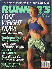 VINTAGE RUNNERS - RUNNER'S WORLD MAGAZINE US EDITION JULY 1998