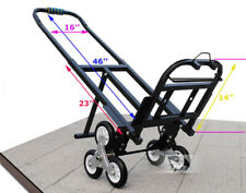 Portable Stair Climbing Folding Cart Climb Moving Hand Truck Carbon Steel