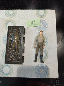Vintage starwars power of the force last 17 Han solo carbonite kenner