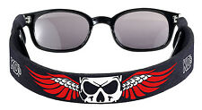 KD's Skull Retainer Neck Cord Strap for Sunglasses Samcro Black Sons of Anarchy