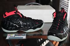 Deadstock Nike Air Foamposite Pro PRM Yeezy Black Crimson 616750 001 Size 11