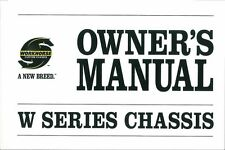 2007 Workhorse W Series Chassis Owners Manual Reference Operator Book Fuses OEM
