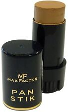 Max Factor Pan Stik Foundation 97 Cool Bronze Dark/Deep Makeup Stick (3 PACK)