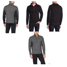 NWT Men's Authentic Spyder Outbound 1/4 Zip Pullover Sweater Variety Warm