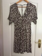 BNWOT Animal Print Dress By H&M - Size UK 8