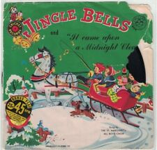 Jingle Bells & It Came Upon a Midnight Clear - Vinyl 45 Cricket Records