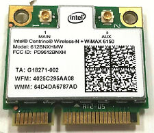 Sony PCG-41218L Vaio Intel 6150 612BNXHMW 300Mbps Wireless Wifi Mini PCI-E Card