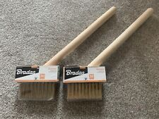 Pair Of Garden Wire Brushes - NEW