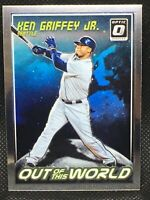 2018 Donruss Optic Ken Griffey JR. Out Of This World #OW13 Seattle Mariners