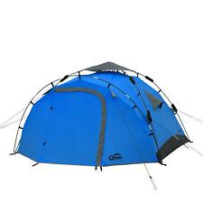 Sekundenzelt QEEDO Quick Pine 3 Personen Zelt Campingzelt Pop Up Zelt Wurfzelt