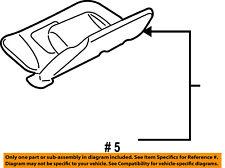 FORD OEM Explorer Sport Trac Headliner-Sunvisor Sun Visor Right 7L2Z7804104GA