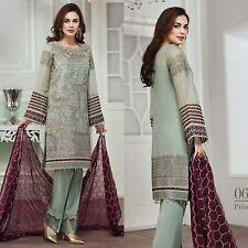 Jazmin Pakistani Maria B Indian Wedding Dress Shalwar Kameez Designer Suit Party