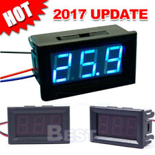 Mini Digital Voltmeter 2.5-30V LED Car Auto Voltage Volt Panel Meter 3 Wire