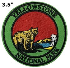 Yellowstone National Park Patch Souvenir Travel Embroidered Iron / Sew-on