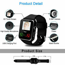 X6 Bluetooth pulsera reloj inteligente+cámara móvil sim fitness para Android IOS