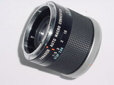 Canon FD Fit Panagor 50mm Auto Macro Converter 1: 5-1/50mm