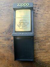 More details for zippo brass lighter, falkland islands colony club, no 045