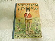Abraham Lincoln Book ~1940~ By Ingri & Edgar Parin d'Aulaire