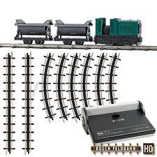 Busch Hof 12000 Field Railway Start Set With Dumper # New Original Packaging #