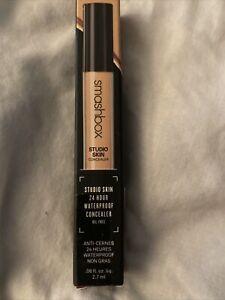New Smashbox Studio Skin 24 Hour Waterproof Concealer Oil Free Light/Medium