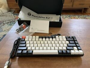 Keychron K2 Hot-swappable Bluetooth Mechanical Keyboard Gateron Blue Switches