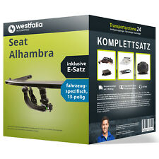 Anhängerkupplung WESTFALIA abnehmbar SEAT Alhambra +ESatz Set kpl. NEU inkl. EBA