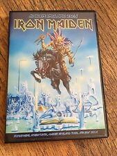 Iron Maiden Concert DVD Sonisphere Knebworth Maiden England Tour 2014