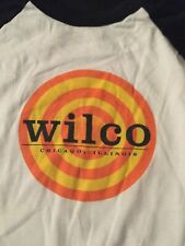 Wilco Shirt, 3/4 Sleeve Jersey, XL, Early Tour, Good Condition!