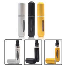3Pcs 5ml Mini Travel Refillable Perfume Atomizer Bottle Spray Scent Pump Case Us
