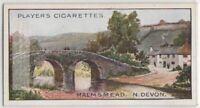 Malmsmead Bridge Somerset North Devon England 100+ Y/O Trade Ad Card