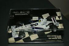 1:43 minichamps sebastian vettel bmw sauber f1.06 test driver 2006 model