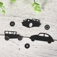4pcs Classic Cars métal découpage Dies pour bricolage scrapbooking album pap SL