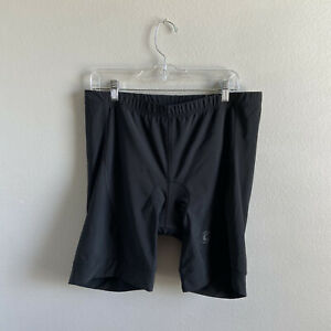 CANNONDALE Padded Cycling Shorts Mens 2XL Black Bicycle