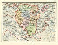 MAP 1928 SOVIET CEC BASHKIR AUTONOMOUS REGION LARGE REPLICA POSTER PRINT PAM0458