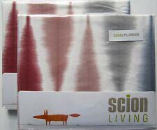 SCION Oxford Pillowcase Pair New USUKU ROSE