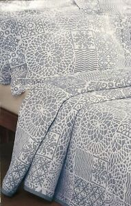 Moda de Casa Lace Patchwork Soft Touch Cotton Mix Bedspread Single Bed Linen