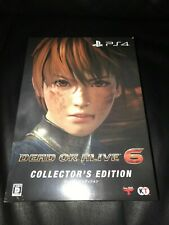 PS4 DEAD OR ALIVE 6 - COLLECTOR'S EDITION Japanese Game NEW