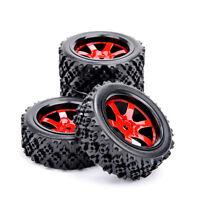 4Pcs off Road Tires Wheel 12mm Hex For HSP HPI RC 1:10 Racing Model Car Tyres