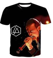 New Fashion Womens/Mens Linkin Park 3D Print Casual T-Shirt YT983
