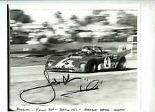 Jacky Ickx & Mario Andretti Ferrari 312 PB Sebring 1972 Signed Photograph