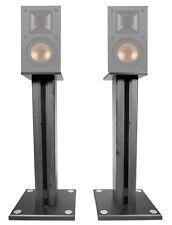 """Pair 26"""" Bookshelf Speaker Stands For Klipsch R-14M Bookshelf Speakers"""