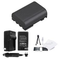 NB-2LH Battery + Charger + BONUS for Canon Elura 40 MC 45 50 60 65 70 80 85 90