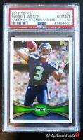 2012 Topps Russell Wilson Passing-Stands Visible PSA 10 💎 Rookie Card RC #165