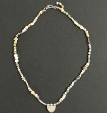 Hand Knotted Bead Necklace by Hunt and Peck Studio of Santa Fe NM