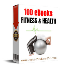 🔥 100 Fitness & Health Premium eBooks With Master Resell Rights + 12Gb Bonuses